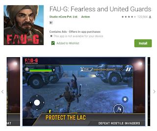 आज लॉन्च हुआ FAU-G, FAU-G केसे खेले, FAU-G गेम के लिए स्मार्टफ़ोन की स्पेसिफिकेशन