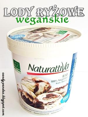 Wegańskie lody ryżowe – Naturattiva