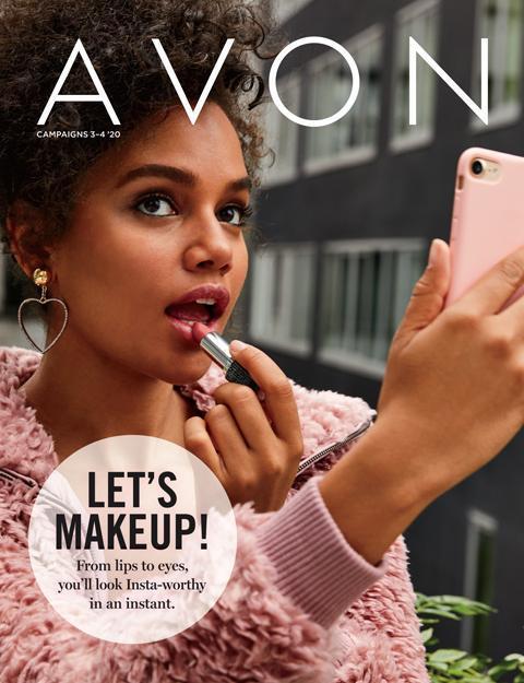 Avon Let's Makeup Campaign 3-4 2020