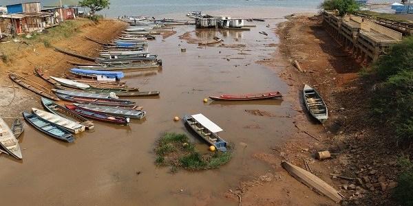 Rio Xingu tem a maior seca das últimas cinco décadas