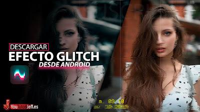 hacer glitch fotos