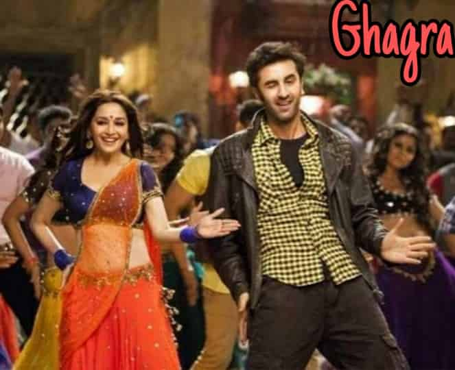 ghagra lyrics from Yeh Jawaani Hai Deewani movie