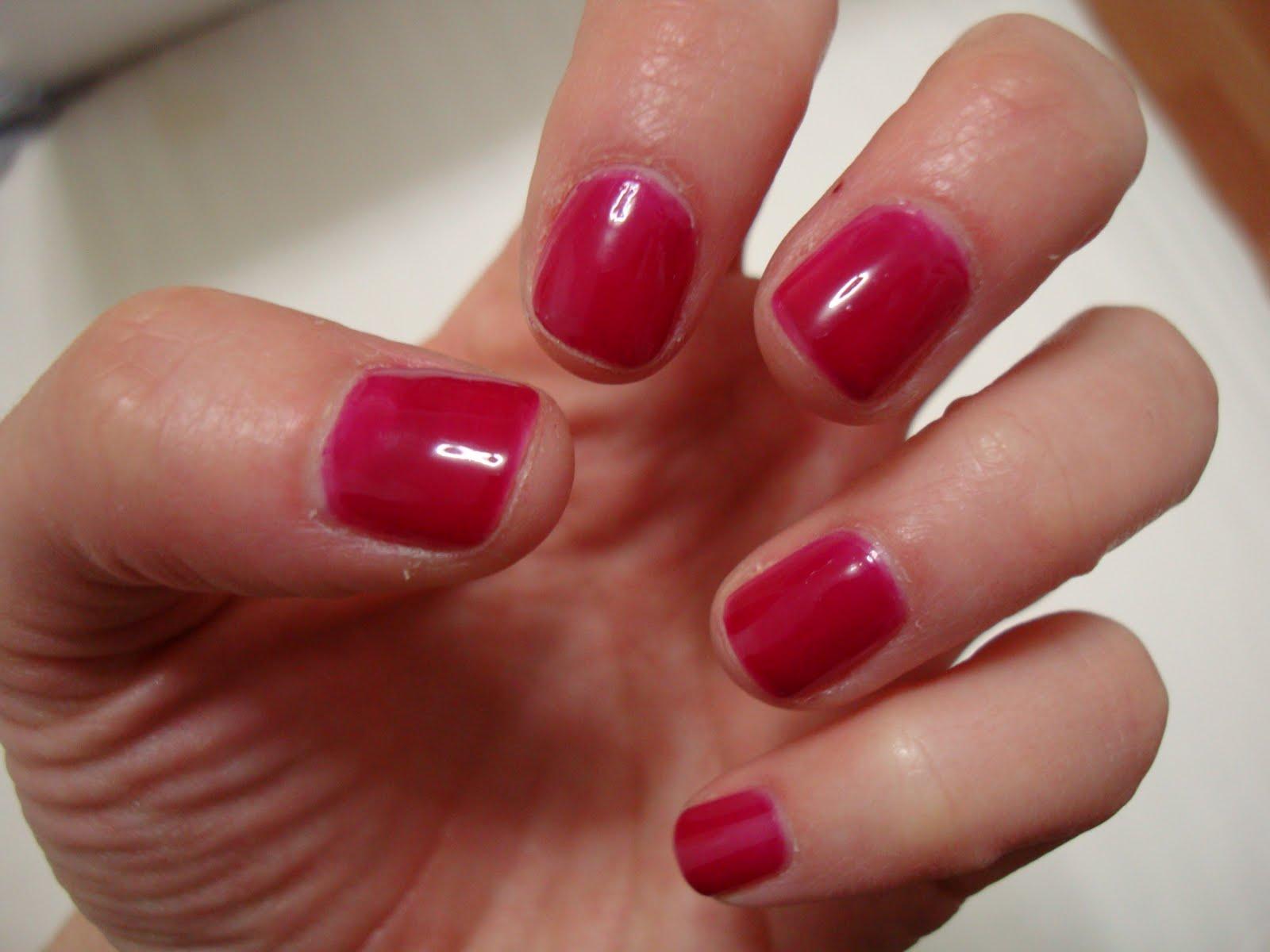 dark pink nails - HD1600×1200
