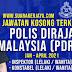 Pengambilan Terkini PDRM Jawatan Inspektor & Konstabel Seluruh Malaysia Dibuka ~ Mohon Sekarang!