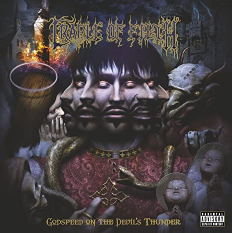 Cradle Of Filth - Godspeed on the Devil's Thunder CD 2008