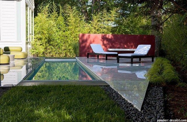Minimalistische Schwimmbad Design