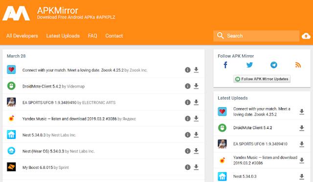 5 Situs Download APK Android yang wajib di install