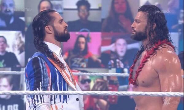 سيث رولينز يحذر رومان رينز، فريق الدرع، ذا شيلد، دين امبروز، WWE