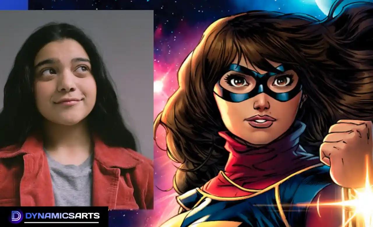Ms Marvel Disney+ cast Iman Vellani as Kamala Khan in Lead Role