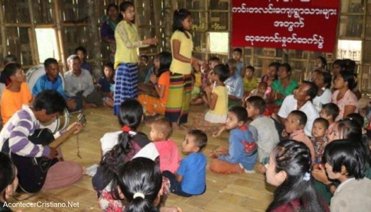 Cristianos en Myanmar