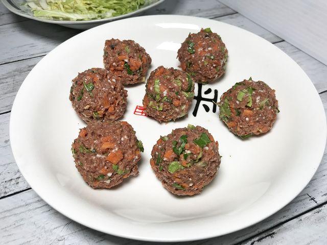 素食獅子頭~素食家常菜