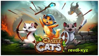 Castle Cats Online Apk Mod Gold + Gems for android