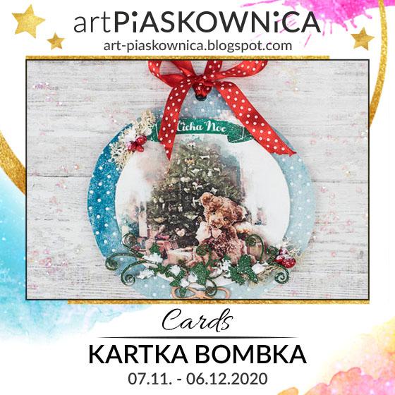 CARDS - kartka BOMBKA