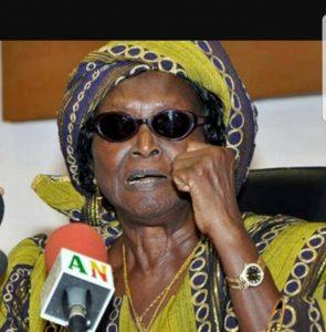 Info Togo scoop : L'ex Première dame du Bénin Rosine Soglo s'adresse au peuple béninois demain