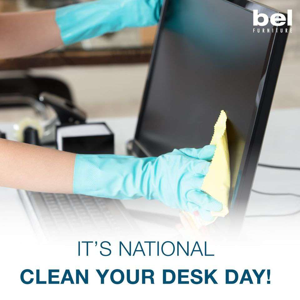 National Clean Your Desk Day Wishes Pics