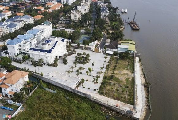 Biệt thự ở Thảo Điền bịt kín lối ra bờ sông Sài Gòn ảnh 11