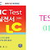 Listening ETS New TOEIC LC - Test 01