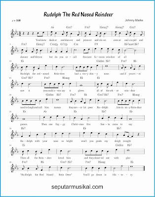 rudolph, the red-nosed reindeer lagu jazz standar