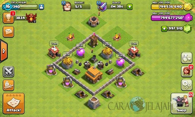 Base Town Hall 3 Terbaik Dan Terbaru Clash Of Clans