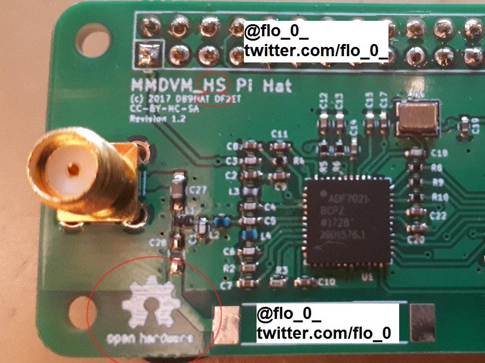 MMDVM HS Hat hotspot