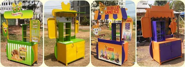 Booth portable,Booth pameran,Gerobak bongkar pasang