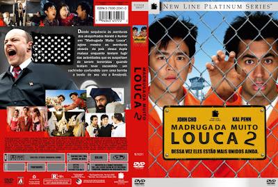 Filme Madrugada Muito Louca 2 DVD Capa
