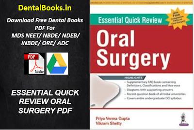 ESSENTIAL QUICK REVIEW ORAL SURGERY PDF, DOWNLOAD ESSENTIAL QUICK REVIEW ORAL SURGERY PDF