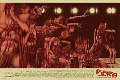 MondoCon 2019 Exclusive Suspiria Movie Poster Screen Print by Jack Hughes x Mondo
