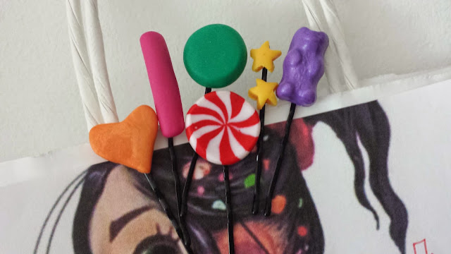 forcine candy chic in fimo Vanellope