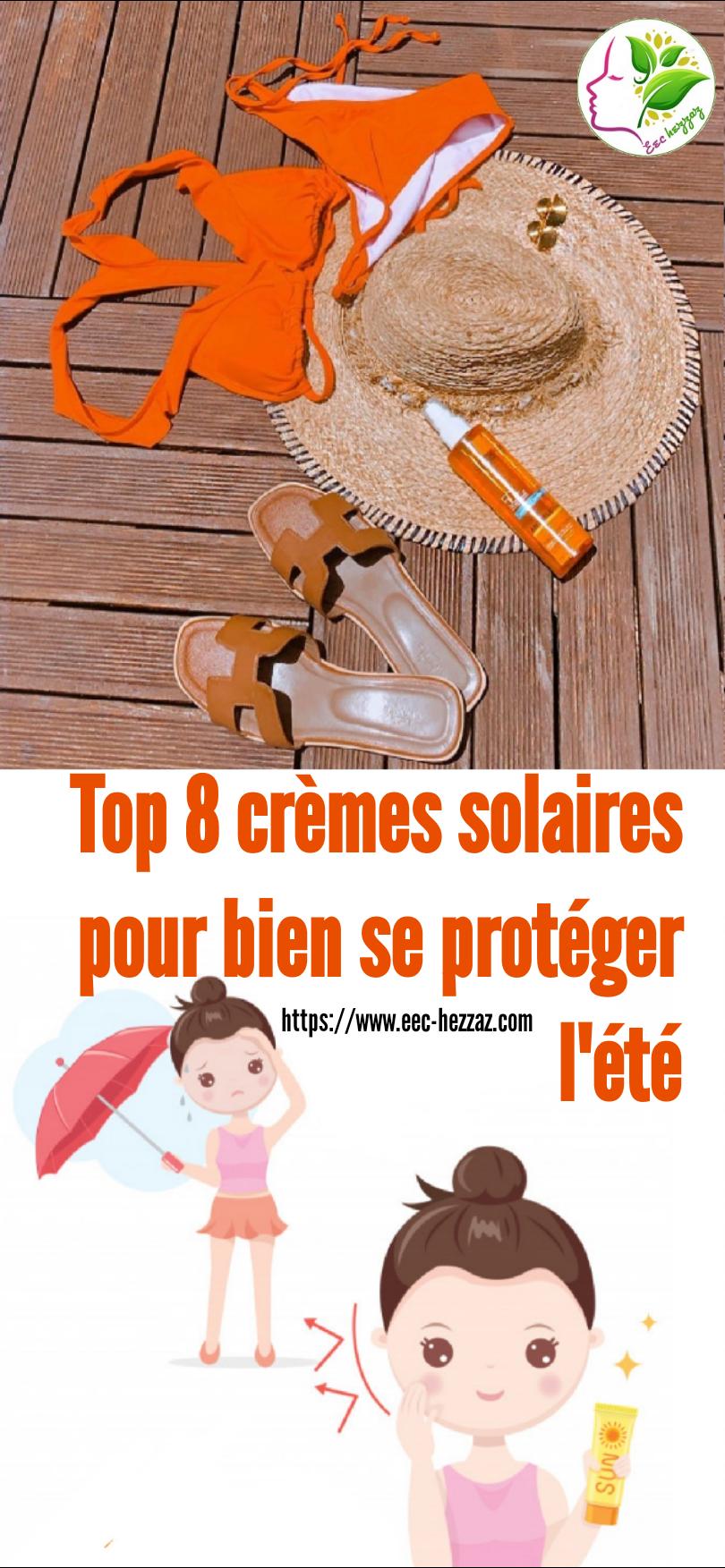 Top 8 crèmes solaires pour bien se protéger l'été
