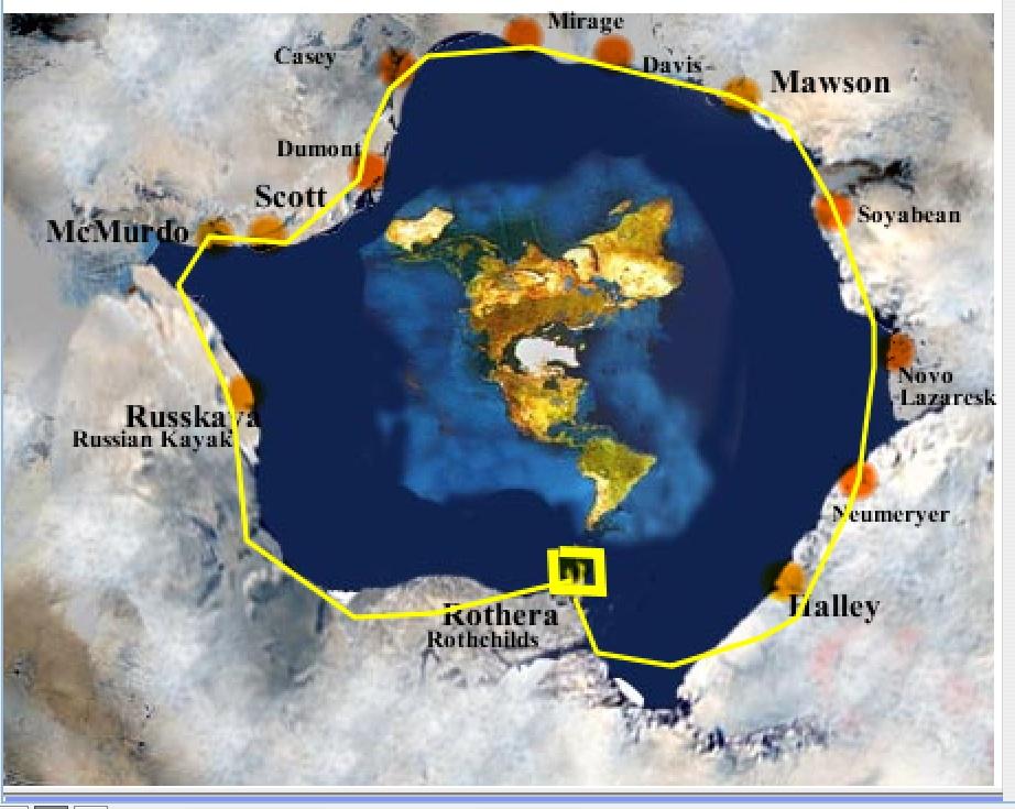 Map Around Airports La