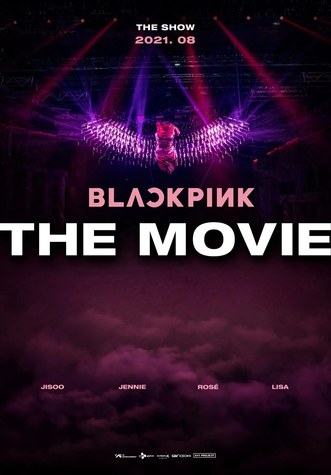 BLACKPINK Reveals First Poster For 'BLACKPINK The Movie'