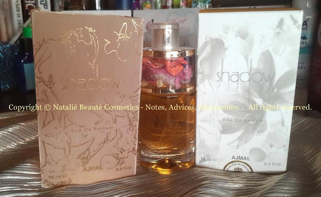 SHADOW II FOR HER by AJMAL PERSONAL PERFUME REVIEW AND PHOTOS NATALIE BEAUTE