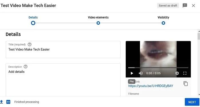 تحميل تفاصيل فيديو يوتيوب
