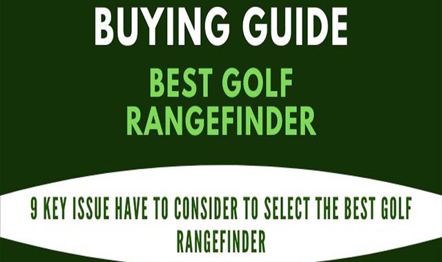Best Golf Rangefinder with slope – 2020 #infographic