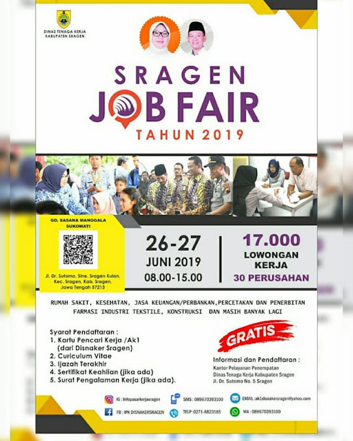 Job Fair Sragen 2019
