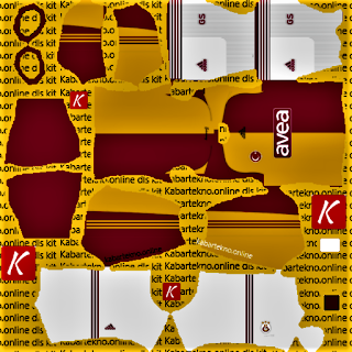 Galatasaray 08/09 Old Kit Dream League Soccer 2021