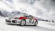 Porsche 718 Cayman GT4 Rally Concept