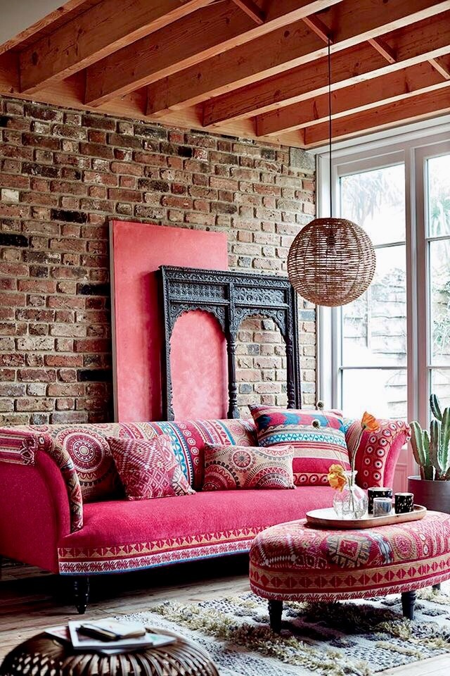 Rooms of Inspiration: Chic Bohemian Living Room