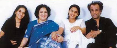 Rajinikanth's family