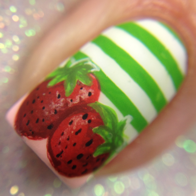 CDB Nails-Strawberry Shortcake