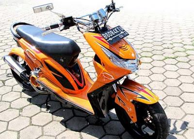 Modif Honda Beat FI Ganti Stang