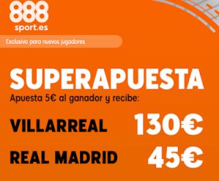 888sport superapuesta liga Villareal vs Real Madrid 1 septiembre 2019