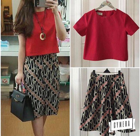 Model Baju Batik Semi Formal: 35+ Model Baju Batik Atasan 2017: Simple, Casual & Modern