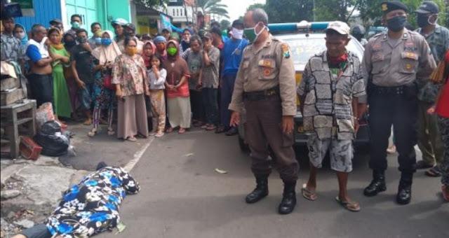 Geger Anggota Muslimat NU Meninggal Mendadak di Jalan Saat PSBB Surabaya