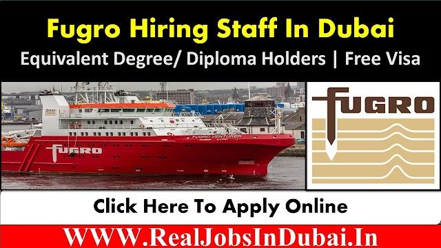 Fugro Careers Dubai Jobs Vacancies 2021
