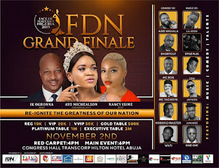 Face Of Democracy Brain Pageant Holds As Ike Ogbonna, Nancy Isime, CDQ, Lil Kesh, Jaywon, Others Set To Headline Event 2