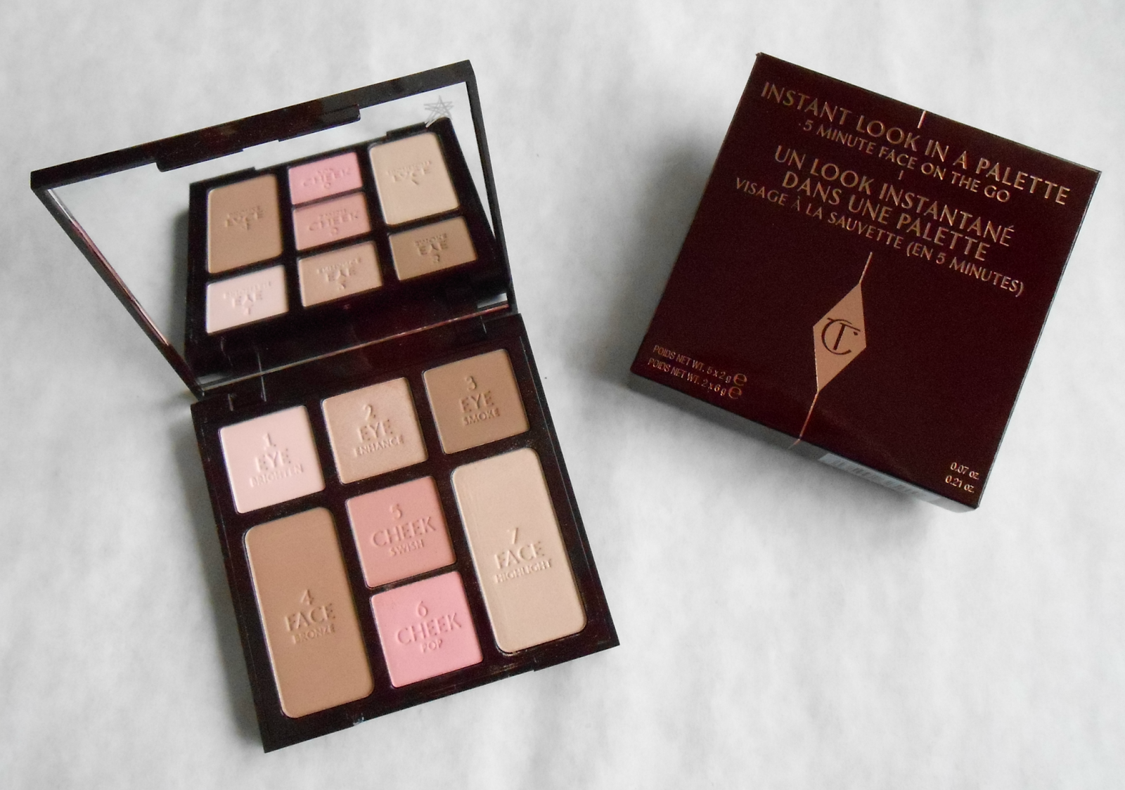 Charlotte Tilbury Instant Look Palette Review