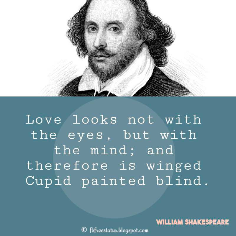 Famous William Shakespeare Quotes on Love