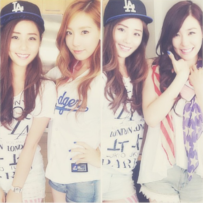 [Picture] 130828 Taeyeon and Tiffany with kryskhloe ...